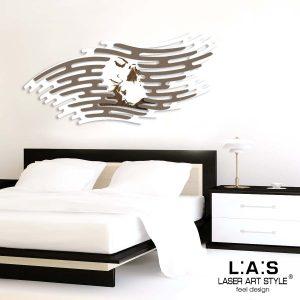L:A:S - Laser Art Style - SI-160 BIANCO GRIGIO MARRONE INCISIONE LEGNO