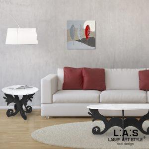 L:A:S - Laser Art Style - Q-015 DECORO ROSSO