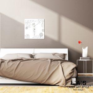 L:A:S - Laser Art Style - Q-036-T7 BIANCO