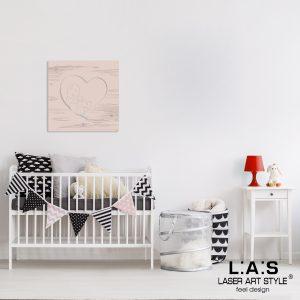 L:A:S - Laser Art Style - Q-037-T7 ROSA BON BON