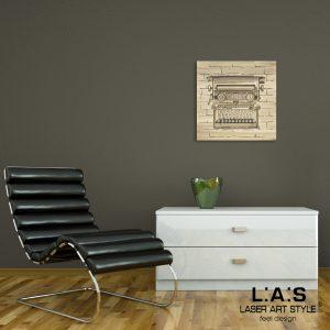 L:A:S - Laser Art Style - Q-025 DECORO MARRONE
