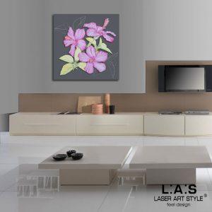 L:A:S - Laser Art Style - SI-102BQ ANTRACITE-DECORO ROSA