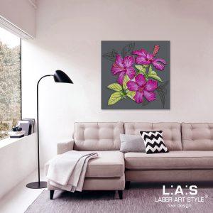 L:A:S - Laser Art Style - SI-102CQ ANTRACITE-DECORO ROSA