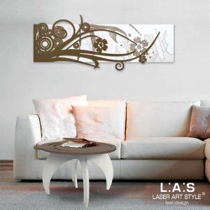 L:A:S - Laser Art Style - SI-106 BIANCO-BRONZO-INCISIONE LEGNO