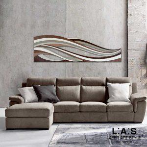 L:A:S - Laser Art Style - SI-114 DECORO MARRONE