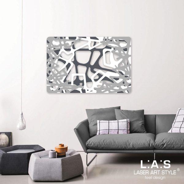 L:A:S - Laser Art Style - SI-144 ANTRACITE-BIANCO-CEMENTO
