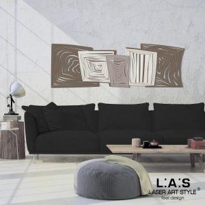 L:A:S - Laser Art Style - SI-147 GRIGIO MARRONE-PANNA-TORTORA