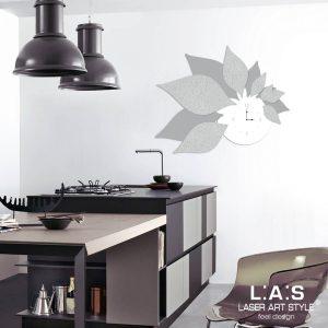 L:A:S - Laser Art Style - SI-210 BIANCO-CEMENTO-DECORO STUCCO GRIGIO LUCE
