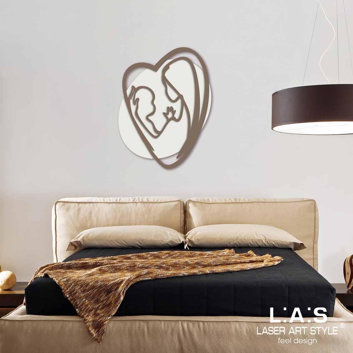 L:A:S - Laser Art Style - CAPEZZALE DESIGN MINIMAL – SI-227L PANNA-GRIGIO MARRONE