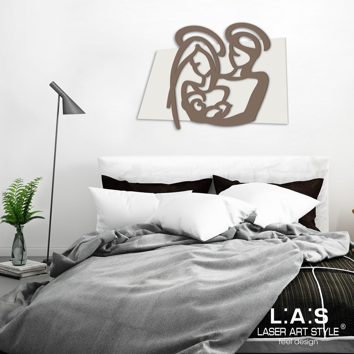 L:A:S - Laser Art Style - CAPEZZALE DESIGN MINIMAL – SI-228XL PANNA-GRIGIO MARRONE