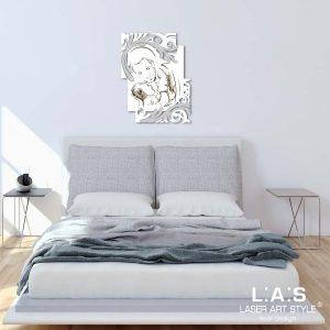 L:A:S - Laser Art Style - SI-237 BIANCO-ARGENTO