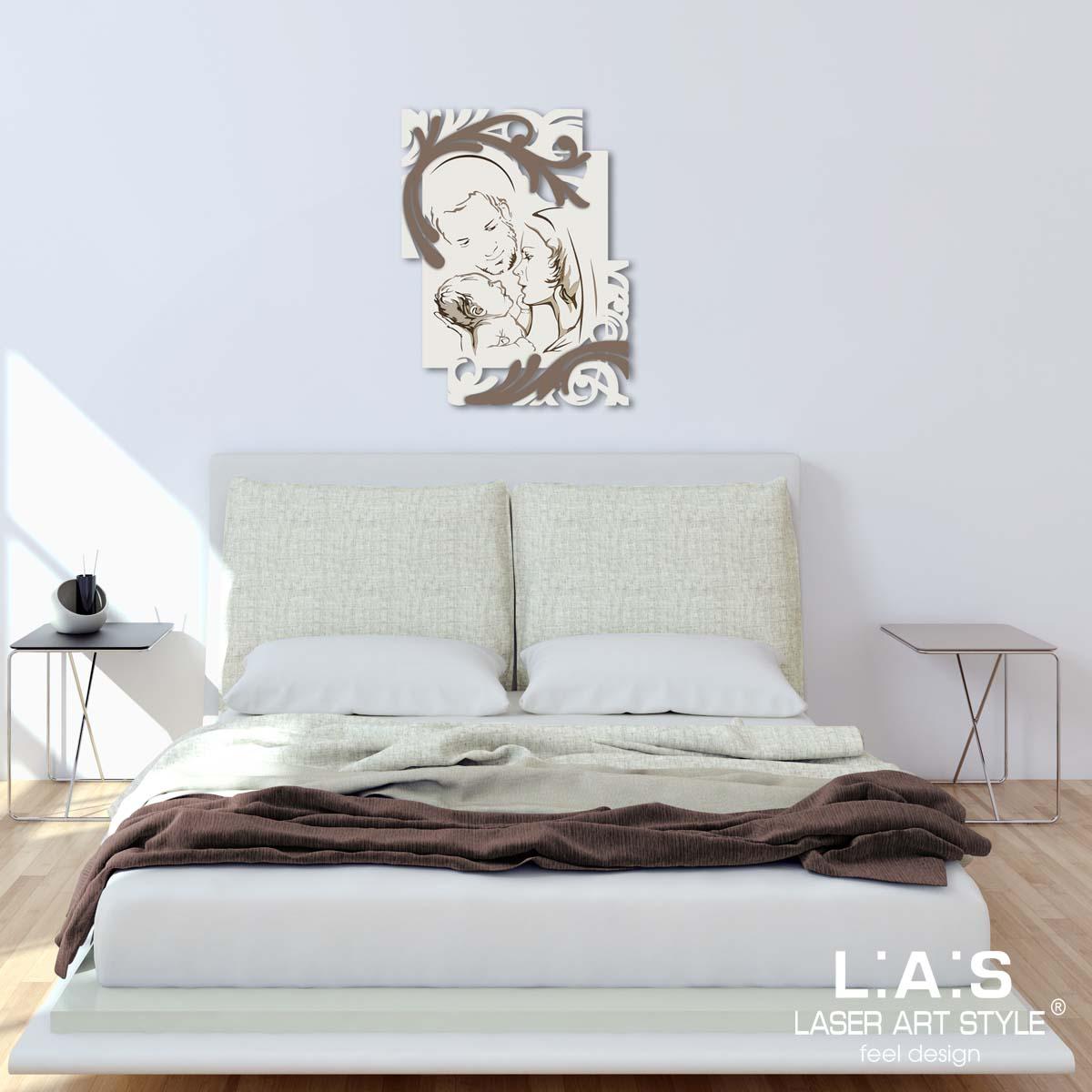 L:A:S - Laser Art Style - CAPEZZALE DESIGN MODERNO – SI-237 PANNA-GRIGIO MARRONE