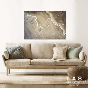 L:A:S - Laser Art Style - SI-257 DECORO STUCCO MARRONE