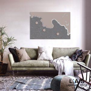 L:A:S - Laser Art Style - SI-257 TORTORA-DARK STONE