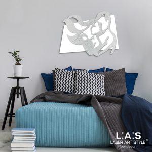 L:A:S - Laser Art Style - SI-323XL BIANCO-ARGENTO