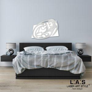 L:A:S - Laser Art Style - SI-325XL BIANCO-ARGENTO