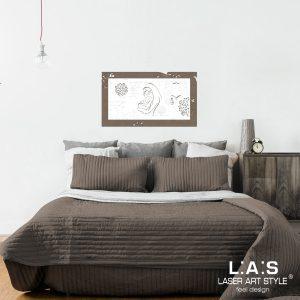 L:A:S - Laser Art Style - SI-475XL-T7 GRIGIO MARRONE – BIANCO