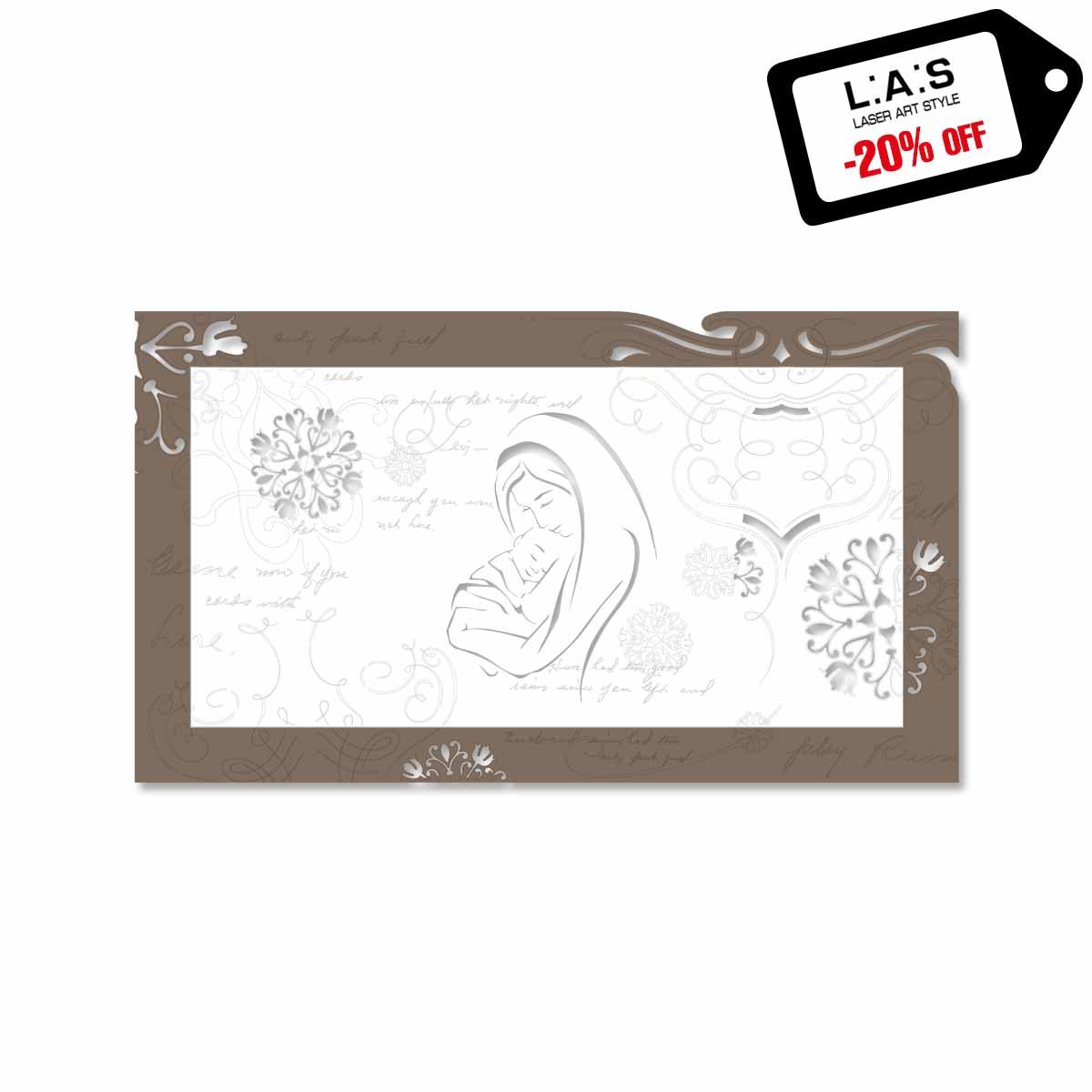 L:A:S - Laser Art Style - CAPEZZALE SACRO SI-475XL-T7 GRIGIO MARRONE – BIANCO