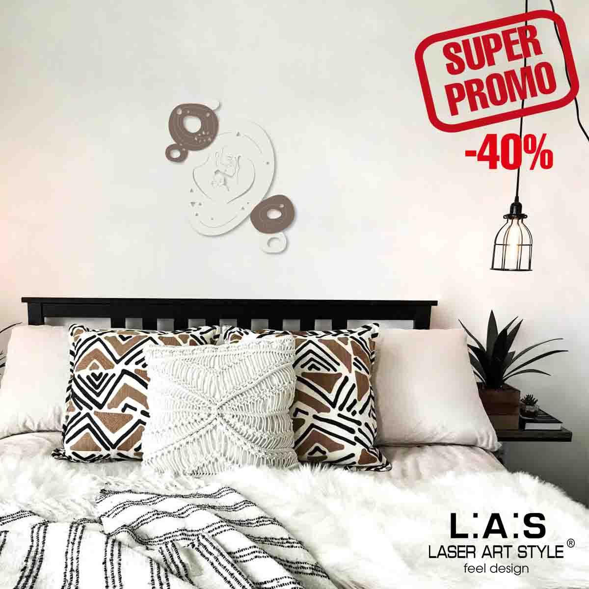 L:A:S - Laser Art Style - CAPOLETTO SACRA FAMIGLIA – SI-480L PANNA – GRIGIO MARRONE