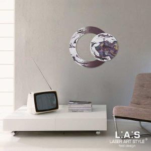 L:A:S - Laser Art Style - SI-535 DECORO BORDEAUX