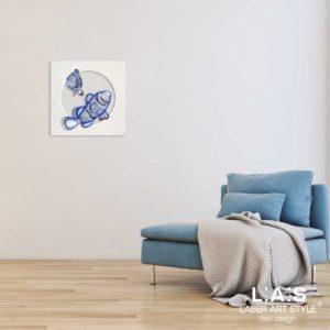 L:A:S - Laser Art Style - Q-032 DECORO BLUETTE