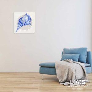 L:A:S - Laser Art Style - Q-033 DECORO BLUETTE