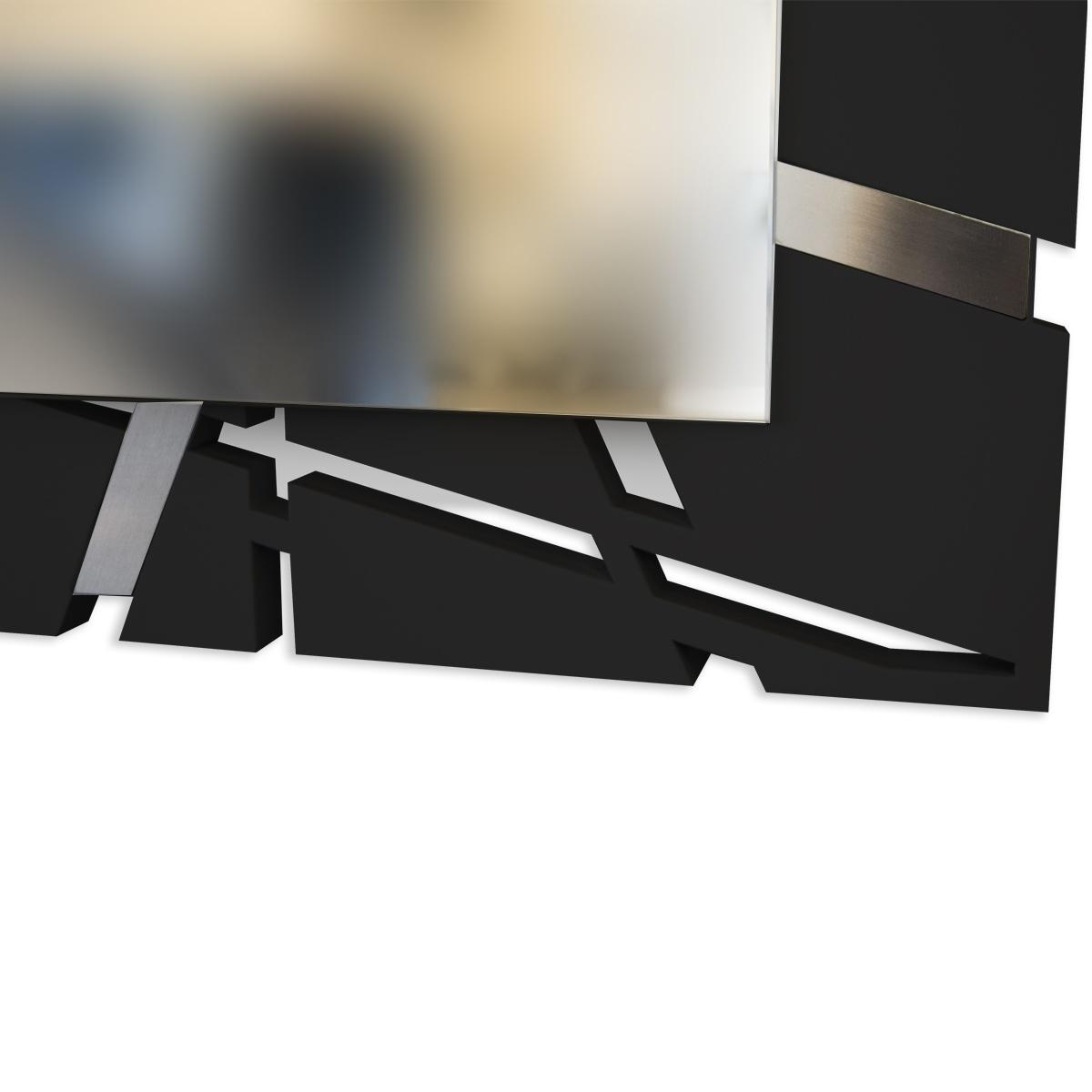 L:A:S - Laser Art Style - SPECCHIO DA PARETE DESIGN MINIMAL – SI-095-SP NERO