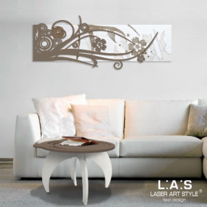 L:A:S - Laser Art Style - SI-106 BIANCO-GRIGIO MARRONE-INC.LEGNO