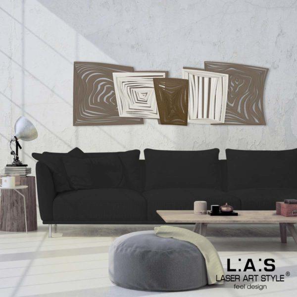 L:A:S - Laser Art Style - SI-147 GRIGIO MARRONE-PANNA-BRONZO
