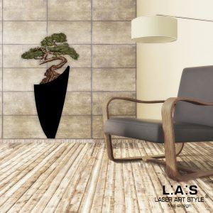 L:A:S - Laser Art Style - SI-192-F NERO-DECORO VERDONE