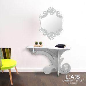L:A:S - Laser Art Style - SI-286 BIANCO-ARGENTO