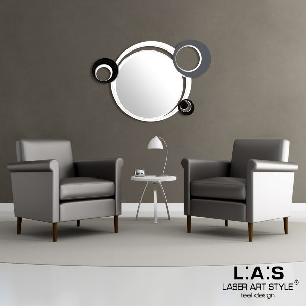 L:A:S - Laser Art Style - SI-296 BIANCO-NERO-ANTRACITE