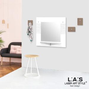 L:A:S - Laser Art Style - SI-471-M3 BIANCO-NOCCIOLA