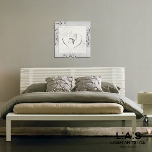 L:A:S - Laser Art Style - SI-476L-T6 ARGENTO-PANNA