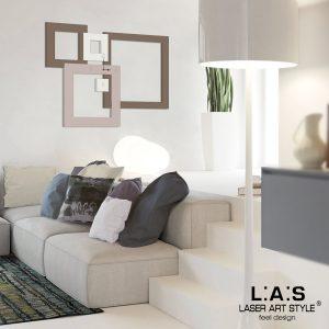 L:A:S - Laser Art Style - SI-504 GRIGIO MARRONE-PANNA-CIPRIA