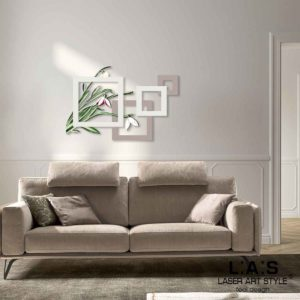 L:A:S - Laser Art Style - SI-505XL TORTORA-PANNA-DECORO VERDONE