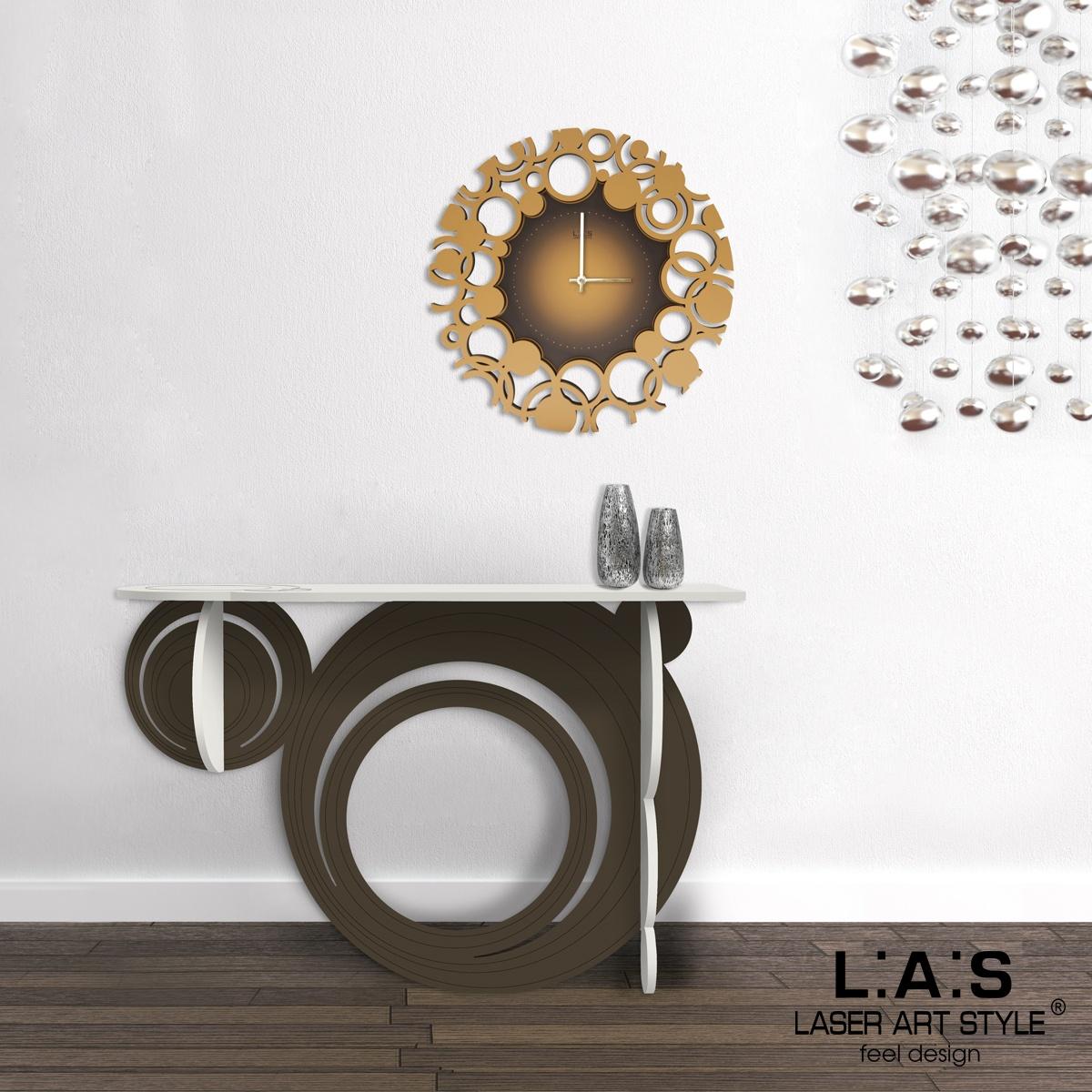 L:A:S - Laser Art Style - OROLOGIO DA PARETE DESIGN SI-534 ORO