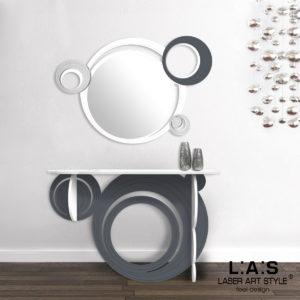 L:A:S - Laser Art Style - SI-280 BIANCO-ANTRACITE