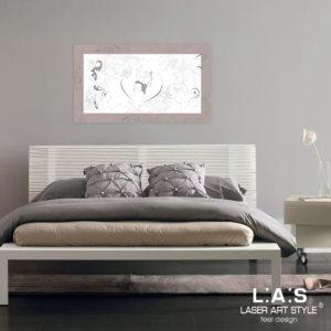 L:A:S - Laser Art Style - SI-476XL-T6 TORTORA-BIANCO