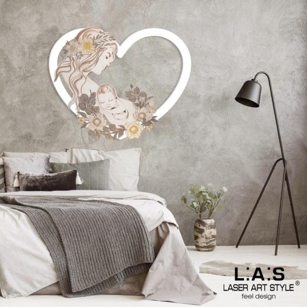 L:A:S - Laser Art Style - SI-528 BIANCO-DECORO MARRONE