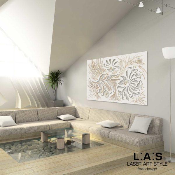 L:A:S - Laser Art Style - SI-137 PANNA-DECORO STUCCO DORATO