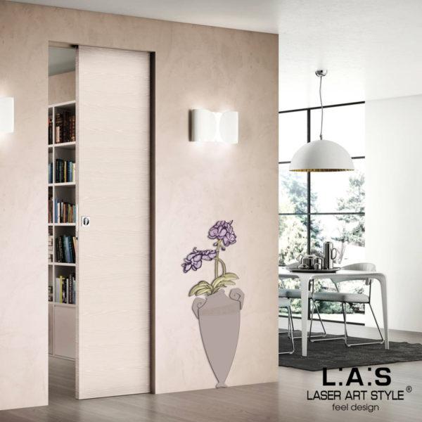 L:A:S - Laser Art Style - SI-180-D TORTORA-DECORO PRUGNA