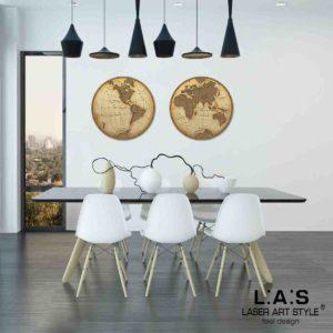 L:A:S - Laser Art Style - SI-371 DECORO MARRONE