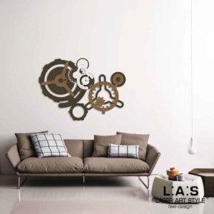 L:A:S - Laser Art Style - SI-460 MARRONE-BRONZO-PANNA