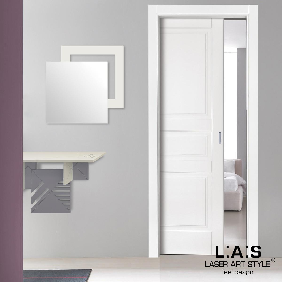 L:A:S - Laser Art Style - SPECCHIERA DESIGN MINIMAL SI-525 PANNA