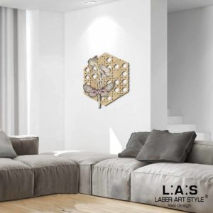 L:A:S - Laser Art Style - W-334L NATURAL WOOD-DECORO TONI CALDI