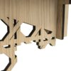 L:A:S - Laser Art Style - W-405 NATURAL WOOD