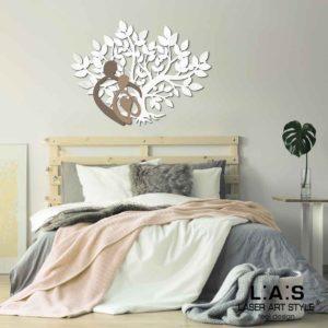 L:A:S - Laser Art Style - SI-529 BIANCO-GRIGIO MARRONE-NOCCIOLA